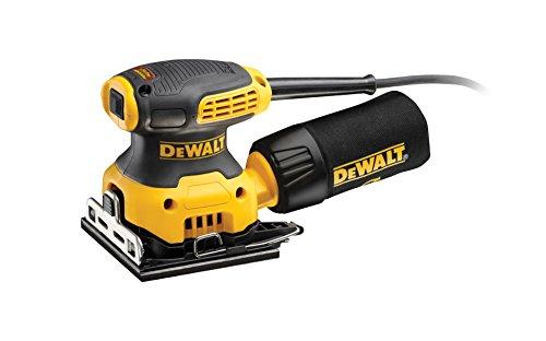 Der DeWalt Vibrationsschleifer: 230 Watt und 1,6mm Schwingkreis