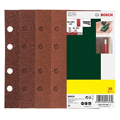 Bosch DIY Schleifblatt-Set (25tlg.)