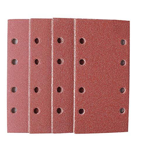TACKLIFE Schleifblätter (25 Stück) für Bosch Schwingschleifer